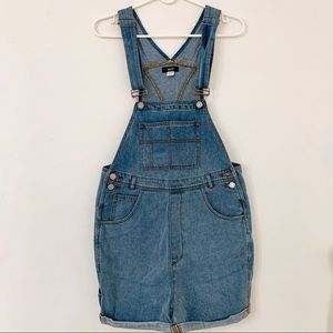 UO BDG Essential Denim Shortall Overall
